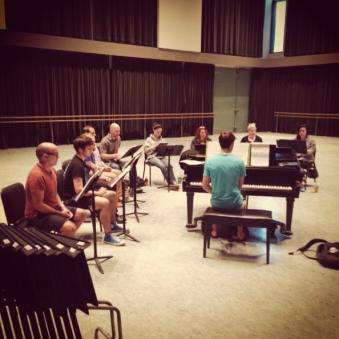 "Music Rehearsal ""Silence! the Musical"""